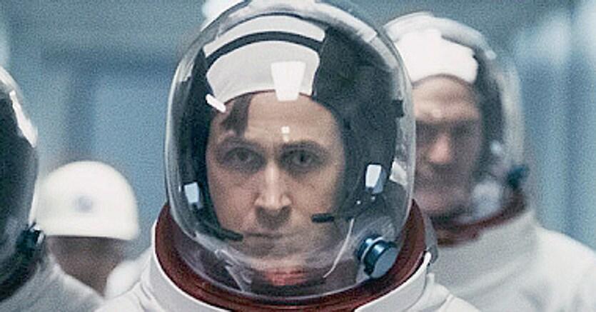 «First man» di Damien Chazelle. Ryan Gosling è Neil Armstrong