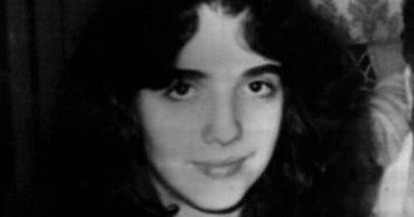 MirellaGregori, in una foto dell'album di famiglia. ANSA/OLDPIX