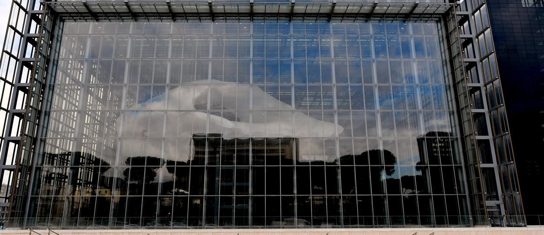 """""""La Nuvola"""" progettata da Massimiliano Fuksas (Afp)"""
