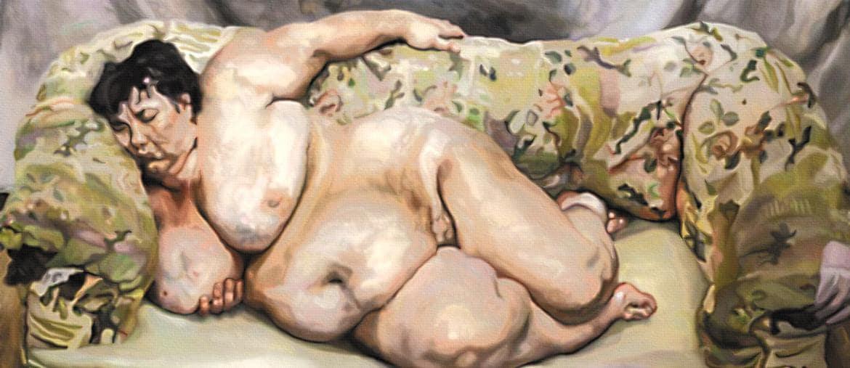 «Fat Sue» di Lucian Freud