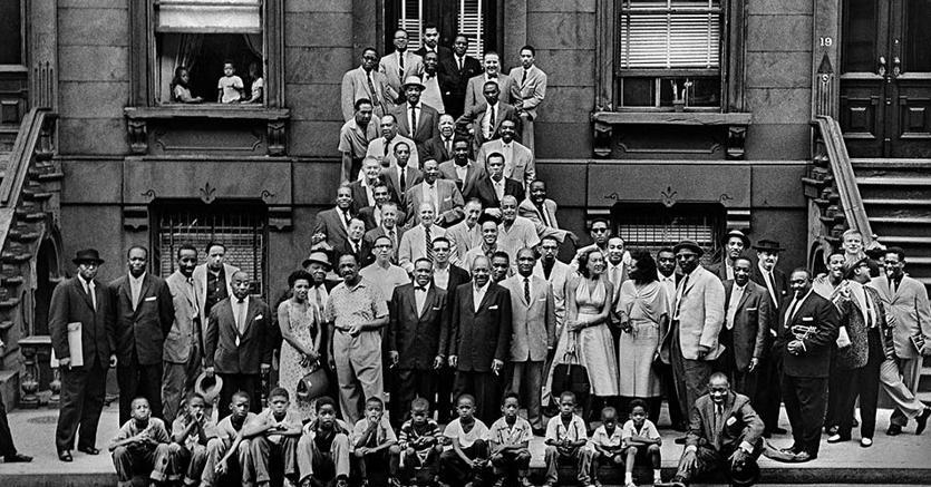 «A Great Day in Harlem», la leggendaria foto che immortala la storia del jazz sarà celebrata al Blue Note di Milano
