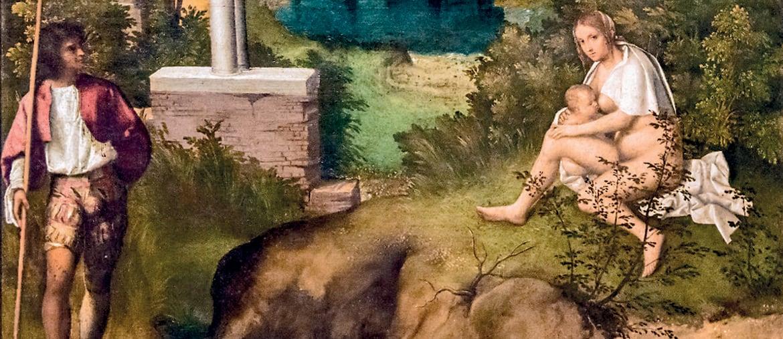 Giorgione«Tempesta» (1506 circa), Venezia, Gallerie dell'Accademia