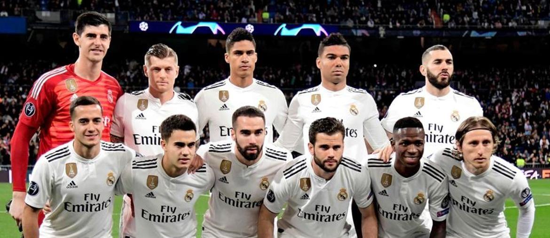 La formazione 2019 del Real Madrid, il primo anno senza  Cristiano Ronaldo