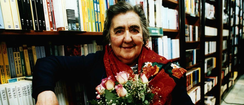 La poetessa Alda Merini, nata il 21 marzo del 1931