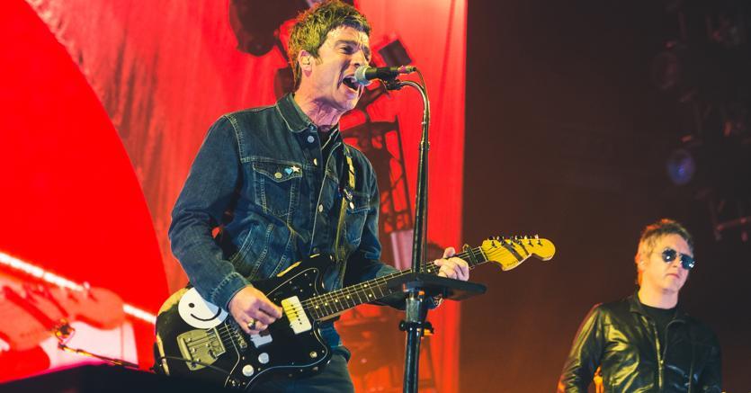 Noel Gallagher ospite internazionale del concertone del primo maggio a Roma (Agf)