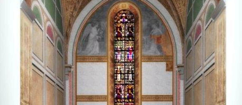 Cappella, dedicata a SantaCaterina