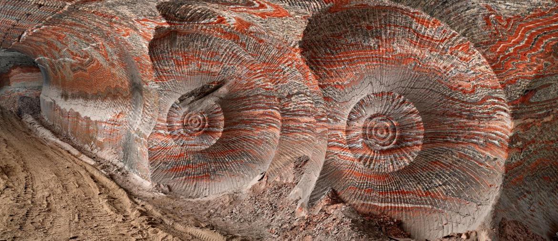 Edward Burtynsky, Uralkali Potash Mine #4, Berezniki, Russia 2017, photo © Edward Burtynsky, courtesy Admira Photography, Milan / Nicholas Metivier Gallery, Toronto