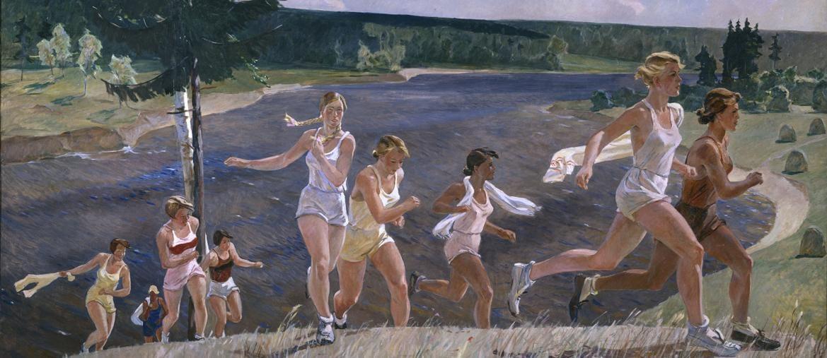 In mostra, «Piena libertà»  di Alexandre Deïneka