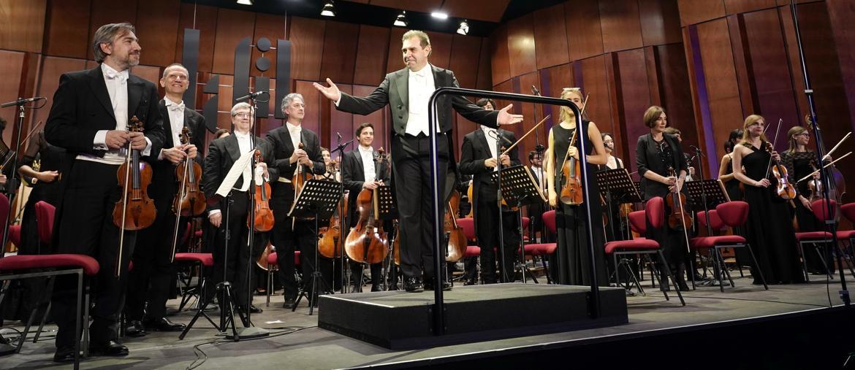 LaFil-Filarmonica di Milano: inaugurazione del 31 maggio al Palazzo delle Scintille. Sul podio il direttore, Daniele Gatti (Foto: Gianfranco Rota)
