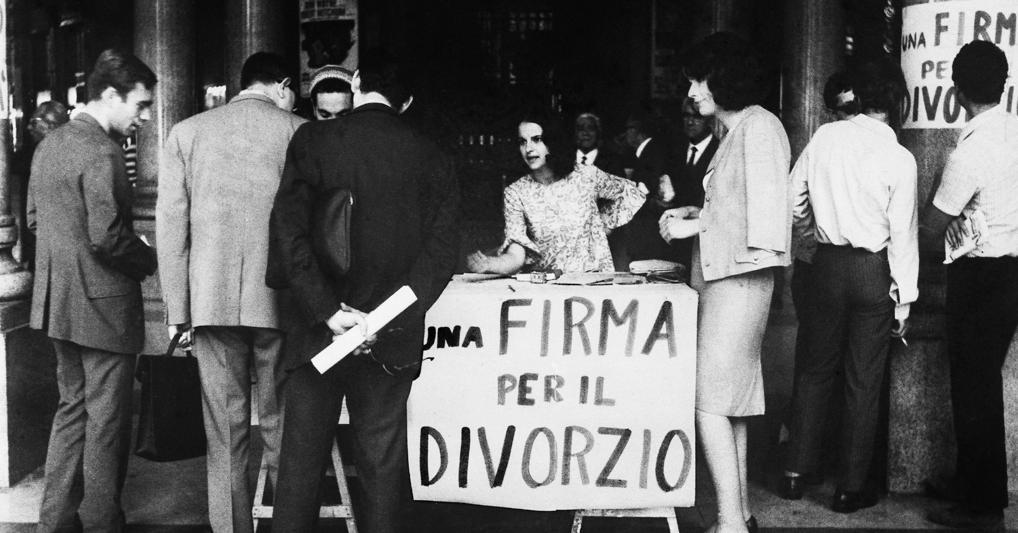 Divorzio: da 50 anni in Italia