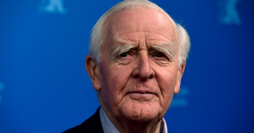 Lo scrittore John Le Carré, morto a 89 anni (Afp)
