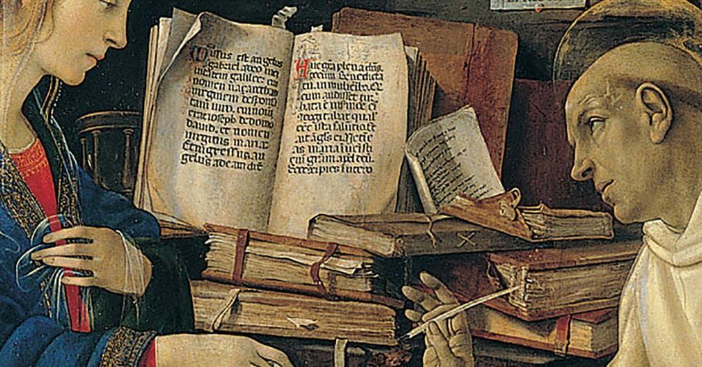 Leonardo stregato dalla magia dei libri