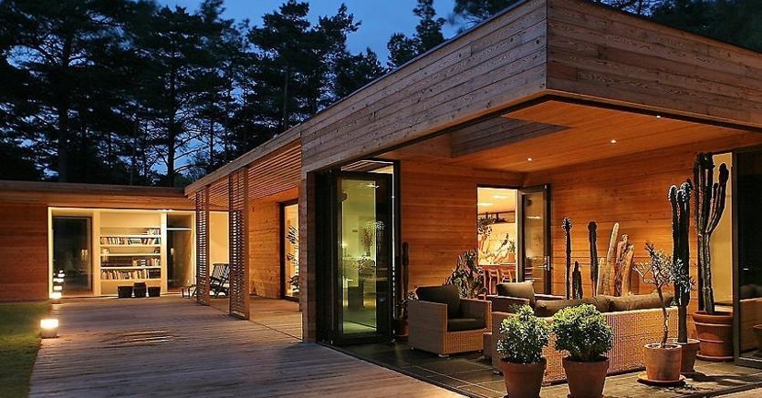 L edilizia in legno in italia raggiunge quota 700 milioni for Casa moderna zurigo