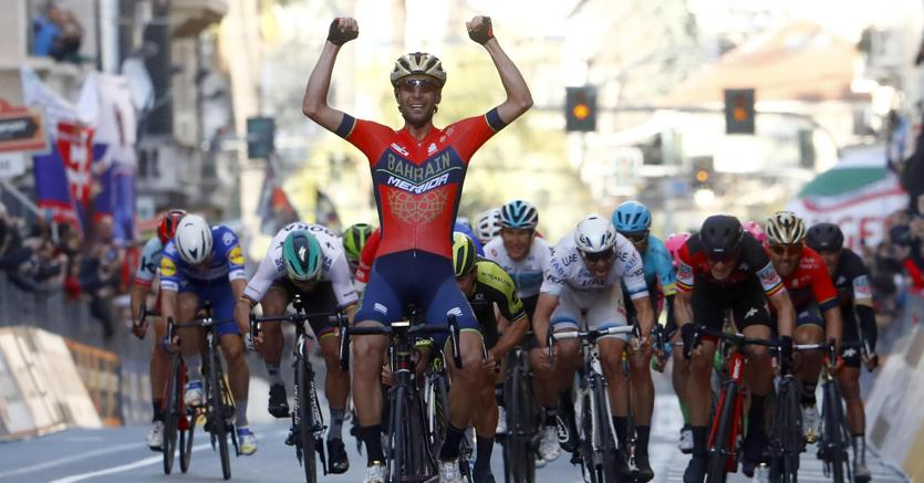 Nibali, capolavoro di fantasia per la vittoria più bella nella Milano-Sanremo