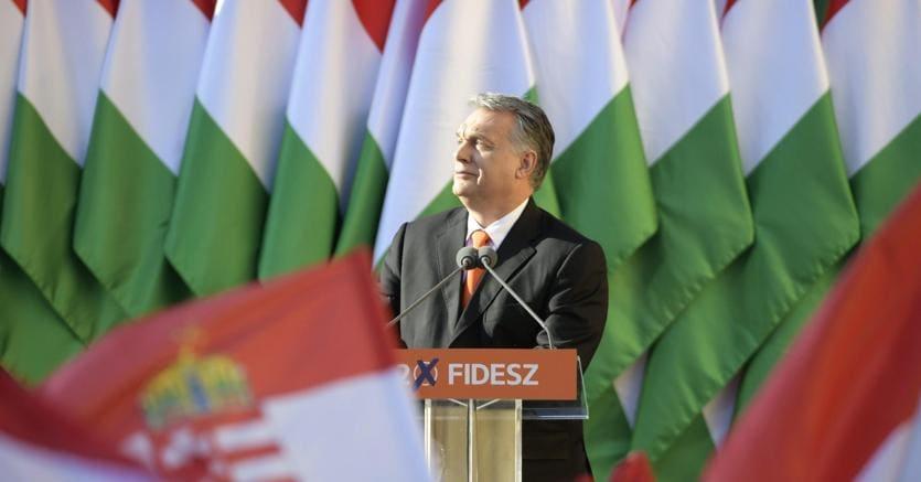 Il leader ungherese Viktor Orban