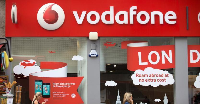Un punto vendita Vodafone
