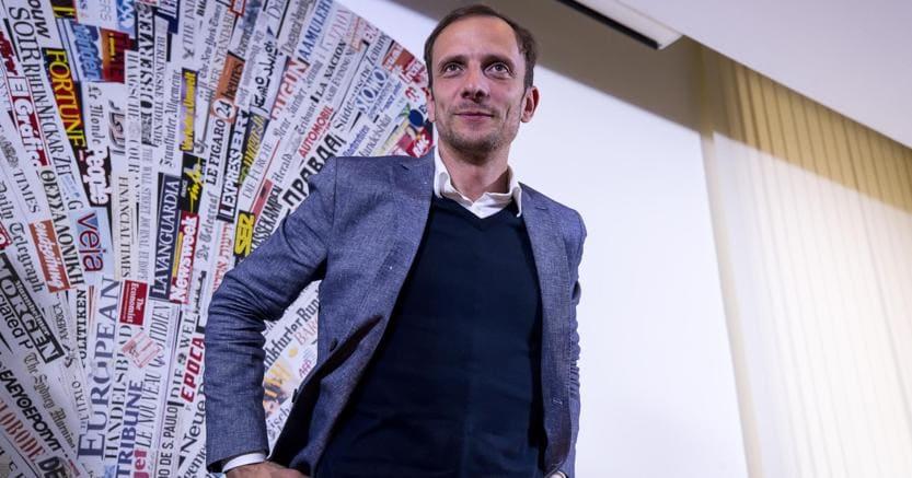 Il neogovernatore del Friuli Venezia Giulia, il leghista Massimiliano Fedriga (foto Ansa)