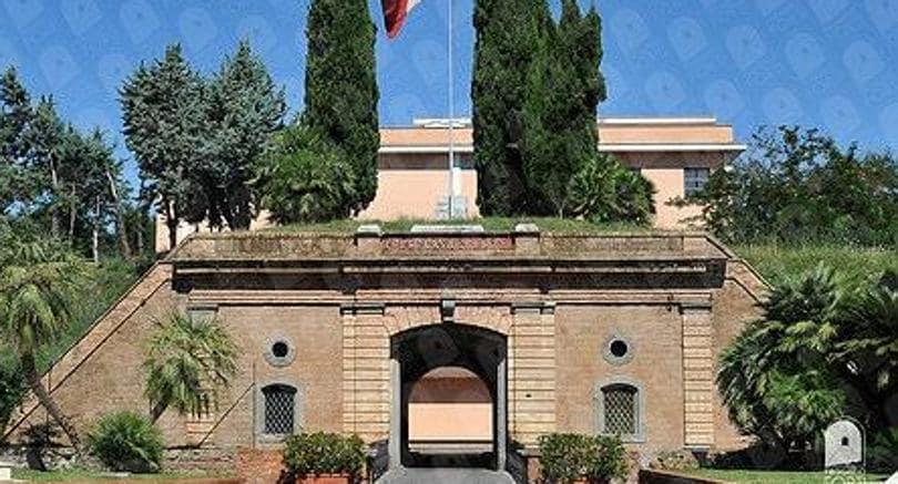 Casal Forte Braschi, uno dei forti di Roma,attualmente è la sede dell'Aise