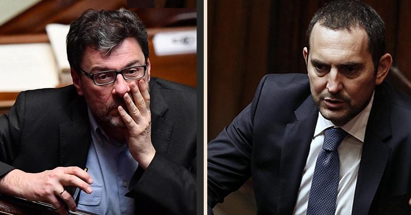 Giancarlo Giorgetti   eVincenzo Spadafora