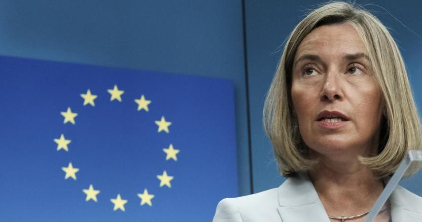 Federica Mogherini, l'alto rappresentante per la Politica estera dell'Unione