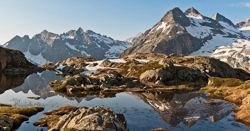 Parchi Naturali e Ghiacciaio Adamello -Mandron  (foto Daniele Lira/ courtesy Trentino marketing)