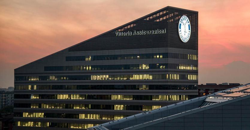 La sede di Vittoria Assicurazioni, in uscita dalla Borsa di Milano