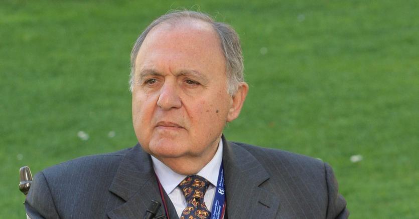 Il nome di Paolo Savona, economista e politico nel Governo Ciampi e in quello Berlusconi di metà anni duemila, è stato fatto da M5S e Lega al capo dello Stato Sergio Mattarella per il ministero dell'Economia (foto Ansa)