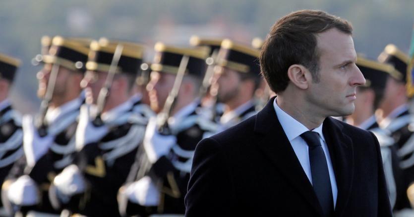 Il presidente francese Emmanuel Macron ha organizzato un summit sulla Libia, il 29 maggio a Parigi (foto Reuters)