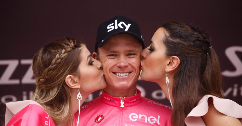 Christopher Froome. (Afp/Luk Benies)