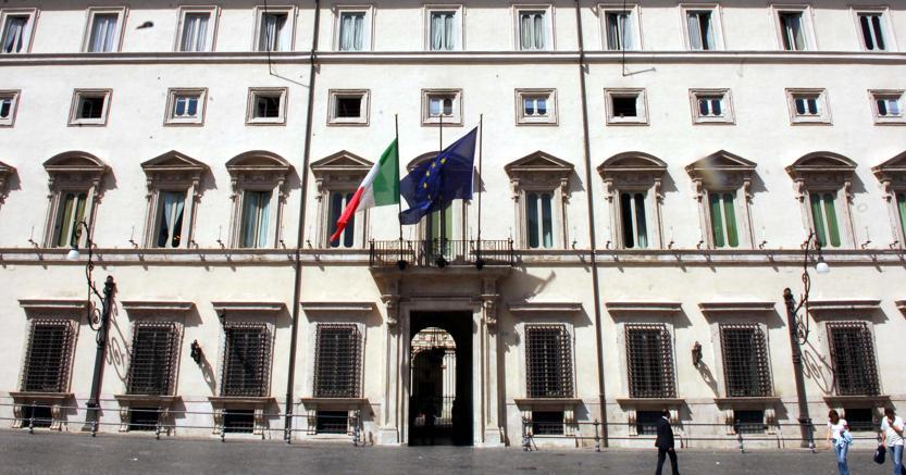 Palazzo Chigi, sede della presidenza del Consiglio dei ministri  (C. Carino)