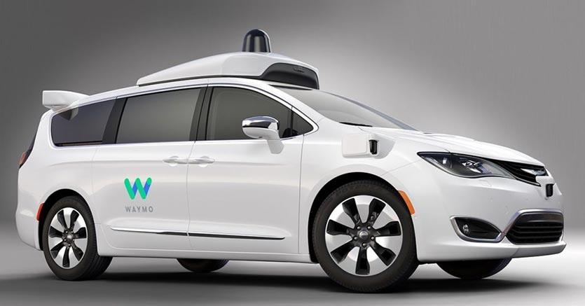 Waymo FCA guida autonoma
