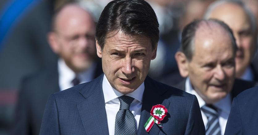 Il primo ministro Giuseppe Conte (Ansa)