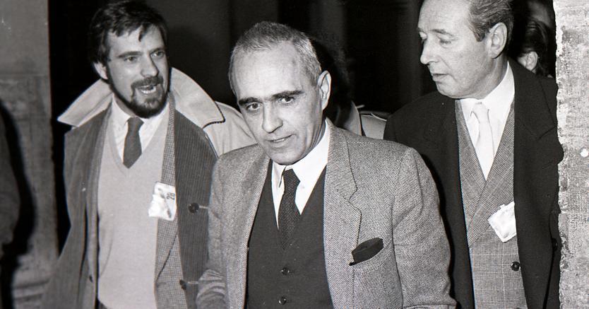 Il segretario della CISL Pierre Carniti (Ansa)