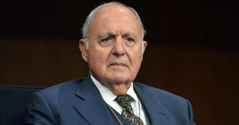 Il ministro degli Affari esteri Paolo Savona (Imagoeconomica)