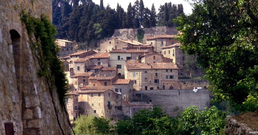 Uno scorcio di Cetona, borgo medievale in provincia di Siena: la zona era già abitata in epoca etrusca