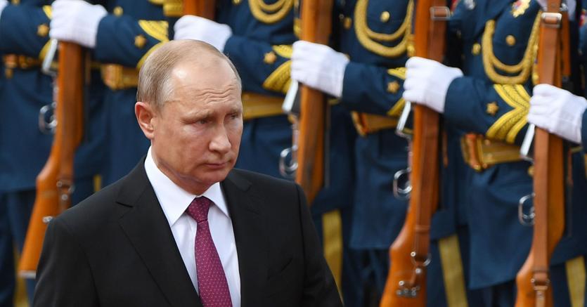 Il presidente russo Vladimir Putin (Afp)