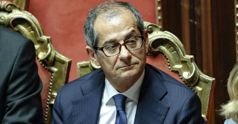 Vertice sul Def  Il ministro dell'Economia, Giovanni Tria (Ansa)