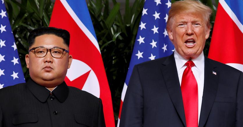 Donald Trump e Kim Jong Un. (Reuters)