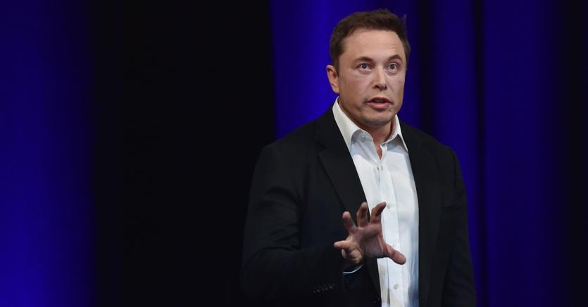 Il fondatore di Tesla Elon Musk (Afp)