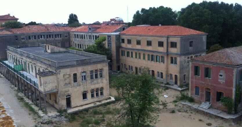 L'ex Ospedale al Mare del Lido di Venezia