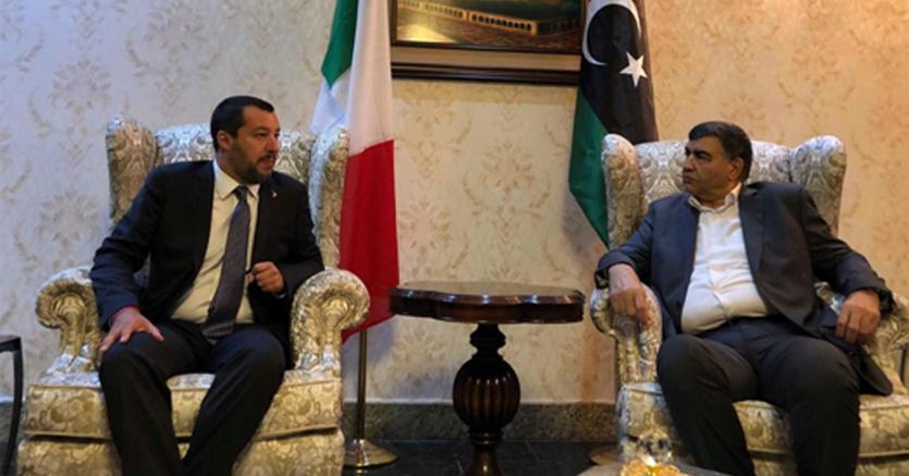 Migranti Salvini Hotspot Fuori Da Confini Libia Cargo