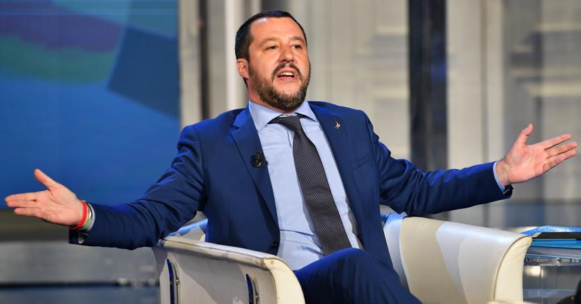 Matteo Salvini (Afp)