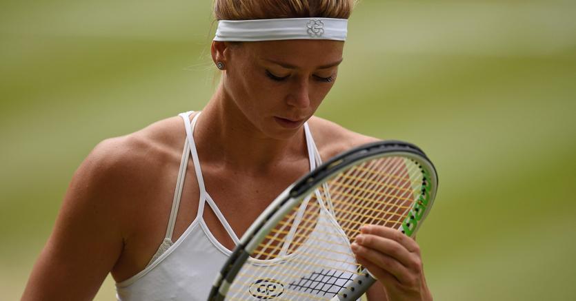 Camila Giorgi non ce l'ha fatta a superare Serena Williams per approdare in seminifinale a Wimbledon