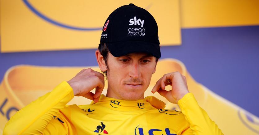 Geraint Thomas, maglia gialla al Tour de France (Reuters)