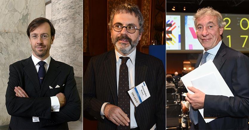 Fabrizio Palermo, Alessandro Rivera, Giuseppe Bonomi