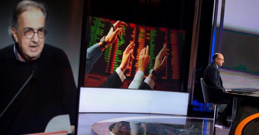 Il presidente di Confindustria Boccia parla di Sergio Marchionne (Imagoeconomica)
