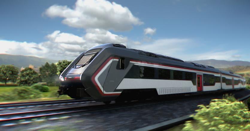 Ecco le prime immagini dei nuovi treni diesel ordinati da Trenitalia