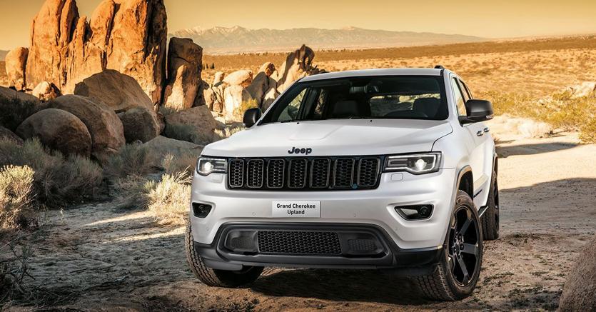 Schemi Elettrici Jeep Cherokee : Nuova serie speciale upland per la jeep grand cherokee il sole