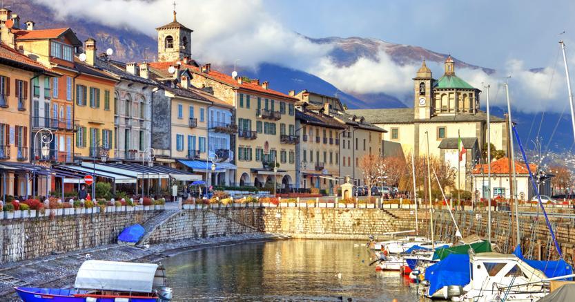 Una veduta di Verbania sul lago Maggiore