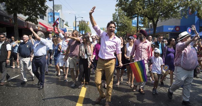 Il premier canadese Justin Trudeau ha ingaggiato un braccio di ferro con l'Aurabia Saudita sui diritti civili (Ap)